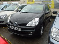 2008 RENAULT CLIO 1.1 EXPRESSION 16V 3d 75 BHP Sorry now Sold £2499.00
