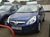 2010 VAUXHALL CORSA 1.2 ACTIVE 5d 80 BHP Sorry Now Sold £4000.00