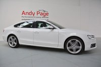 USED 2011 61 AUDI A5 3.0 SPORTBACK TDI QUATTRO S LINE 5d AUTO 240 BHP GENUINE 1 OWNER VEHICLE+FSH