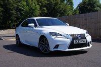 2013 LEXUS IS 2.5 300H F SPORT 4d AUTO 220 BHP £18995.00