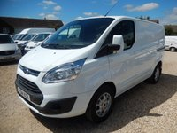 2014 FORD TRANSIT CUSTOM 2.2 TDCi 270 LIMITED 125 BHP ONLY 22783 MILES FROM NEW £13495.00