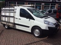 2013 CITROEN DISPATCH 1.6 1000 L1H1 HDI  FITTED GLASS FRAIL LOW MILES £7695.00