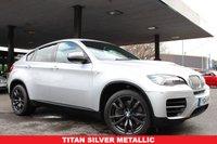 USED 2014 14 BMW X6 3.0 M50D 4d AUTO 376 BHP +SAT NAV+LEATHER+TINTS+