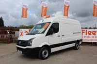 USED 2013 13 VOLKSWAGEN CRAFTER 2.0 CR35 TDI H/R  135 BHP RARE 135 BHP MODEL