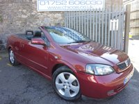 2005 VAUXHALL ASTRA 2.2 COUPE CONVERTIBLE 16V 2d AUTO 147 BHP £2999.00