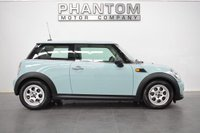 2011 MINI HATCH ONE 1.6 ONE 3d 98 BHP £7990.00