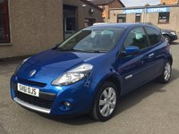 2011 RENAULT CLIO 1.2 GT LINE TOMTOM TCE 3d 100 BHP £4650.00