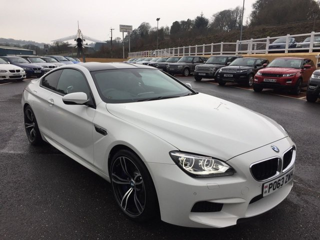 2013 63 BMW M6 4.4 Twin Turbo Auto DCT Coupe