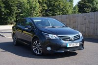 2014 TOYOTA AVENSIS 2.0 D-4D ICON BUSINESS EDITION 4d 124 BHP £11000.00
