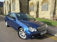 USED 2005 55 MERCEDES-BENZ C-CLASS 2.1 C220 CDI CLASSIC SE 4d AUTO 148 BHP ++ VERY LOW MILEAGE ++