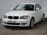 2011 BMW 1 SERIES 2.0 118D SPORT 2d 141 BHP £10999.00