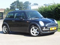 USED 2002 52 MINI HATCH COOPER 1.6 COOPER 3d 114 BHP FSH DRIVES SUPERB PAN ROOF