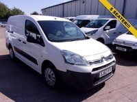 USED 2012 62 CITROEN BERLINGO 1.6 HDi 725kg Crew Van X 90ps