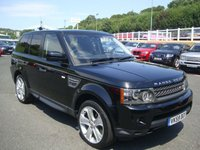 2009 LAND ROVER RANGE ROVER SPORT 5.0 V8 HSE 5d AUTO 510 BHP £23750.00