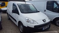 2011 PEUGEOT PARTNER 850S 1.6 HDI 90PS L1 VAN £5750.00