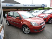 2006 FORD FIESTA 1.6 GHIA 16V 5d 100 BHP £3499.00