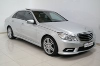 USED 2011 11 MERCEDES-BENZ E CLASS 3.0 E350 CDI BLUEEFFICIENCY SPORT 4d AUTO 265 BHP REVERSE CAMERA+PAN ROOF+SAT NAV+LEATHERS+HEATED SEATS+XENONS