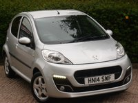 USED 2014 14 PEUGEOT 107 1.0 ALLURE 5d 68 BHP APPLY FOR FINANCE 24/7 JUST CLICK LINK IN AD