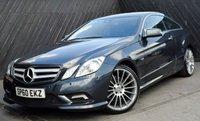 2010 MERCEDES-BENZ E CLASS E250CDi BlueEFFICIENCY SPORT COUPE AUTO 204 BHP £14890.00
