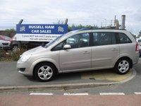 2008 VAUXHALL ZAFIRA 1.6 EXCLUSIV 5d 105 BHP £4295.00