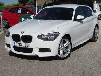 2013 BMW 1 SERIES 2.0 120D XDRIVE M SPORT 5d 181 BHP £16000.00