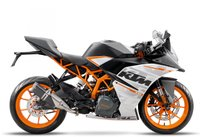 USED 2016 KTM RC 390 WHITE, BRAND NEW!