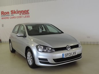 2013 VOLKSWAGEN GOLF 1.2 S TSI BLUEMOTION TECHNOLOGY 5d 84 BHP £8999.00