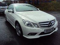 2009 MERCEDES-BENZ E CLASS 2.1 E250 CDI BLUEEFFICIENCY SPORT 2d AUTO 204BHP £12490.00
