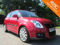 2007 SUZUKI SWIFT 1.6 SPORT 3d 124 BHP £2950.00