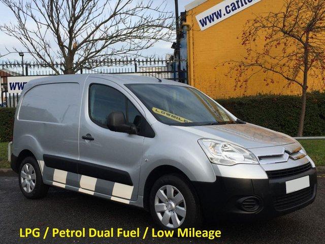 2010 10 CITROEN BERLINGO 1.6 625 LX L1 16v [ LPG / Dual Fuel ] 60K Fsh Free UK Delivery