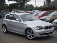 2011 BMW 1 SERIES 2.0 118D SPORT 5d 141 BHP £10995.00