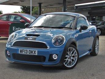 2013 MINI COUPE 2.0 COOPER SD 2d 141 BHP £9500.00