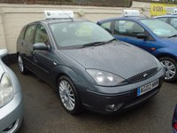 2002 FORD FOCUS 2.0 ST 170 5d 173 BHP £1299.00