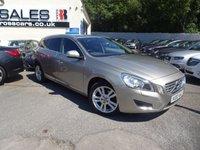 2012 VOLVO V60 1.6 D2 SE LUX 5d 113 BHP £12495.00
