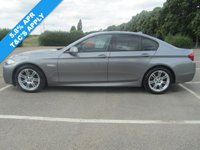 USED 2012 62 BMW 5 SERIES 2.0 520D M SPORT 4d AUTO 181 BHP ++5.8% APR available on this car++