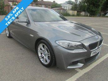 2012 BMW 5 SERIES 2.0 520D M SPORT 4d AUTO 181 BHP £14991.00