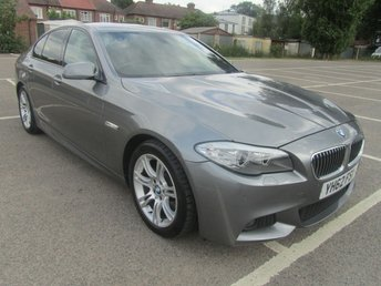 2012 BMW 5 SERIES 2.0 520D M SPORT 4d AUTO 181 BHP £SOLD
