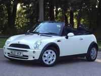 2007 MINI CONVERTIBLE 1.6 ONE 2d 89 BHP £4995.00
