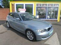 2010 BMW 1 SERIES 2.0 118D SE 5d 141 BHP £7000.00