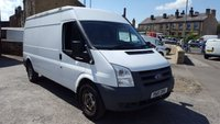 2010 FORD TRANSIT 100T 350 2.4TDCi LWB MEDIUM ROOF VAN £7750.00