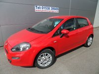 2012 FIAT PUNTO 1.2 EASY 5 DOOR BRIGHT RED 41000 MILES CLIMATE £5295.00