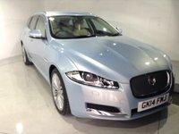 2014 JAGUAR XF 2.2 D SE SPORTBRAKE 5d AUTO 163 BHP £21765.00