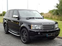 2007 LAND ROVER RANGE ROVER SPORT 2.7 TDV6 SPORT HSE 5d AUTO 188 BHP £14990.00