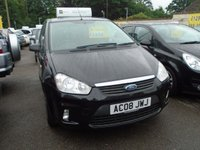 2008 FORD C-MAX 1.6 ZETEC 5d 100 BHP Sorry Now Sold £4000.00