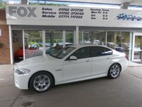 2013 BMW 5 SERIES 2.0 525D M SPORT 4d AUTO 215 BHP £20975.00