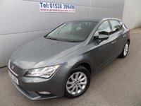 2013 SEAT LEON 1.6 TDI SE 5d 105 BHP LOW ROAD TAX, VERY CLEAN £8495.00