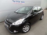 2014 PEUGEOT 208 1.2 ACTIVE 5d 82 BHP ONLY 9000 MILES AIR CON ALLOYS £7495.00