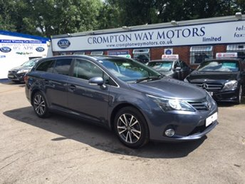 View our TOYOTA AVENSIS