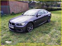 2008 BMW 3 SERIES 2.0 320D M SPORT 2d 175 BHP £9000.00
