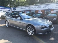 2006 BMW 6 SERIES 4.8 650I SMG 2d AUTO 363 BHP £13995.00